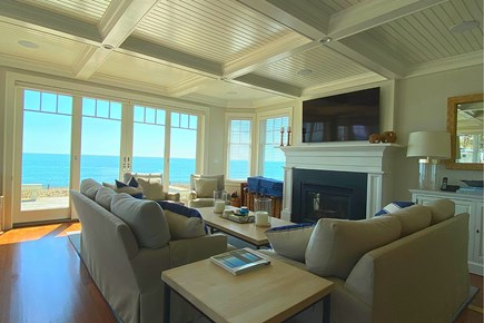 Paradise on Popponesset Cape Cod vacation rental - Living Room with Views