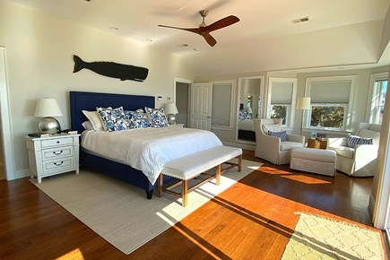 Paradise on Popponesset Cape Cod vacation rental - Upstairs Main bedroom