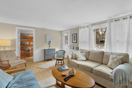 Dennis Cape Cod vacation rental - Updated and bright Living room Area