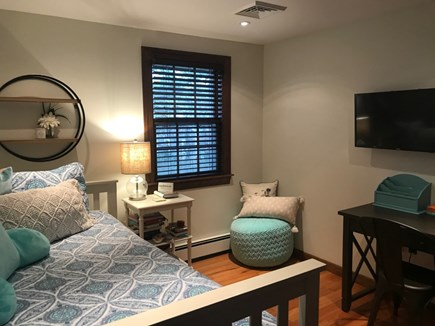 Harwich Cape Cod vacation rental - Bedroom with trundle bed and flat screen tv
