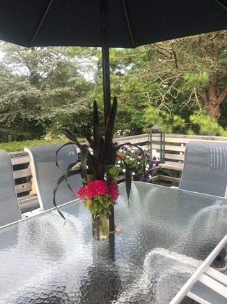 Harwich Cape Cod vacation rental - Great outdoor dining perfect for local seafood