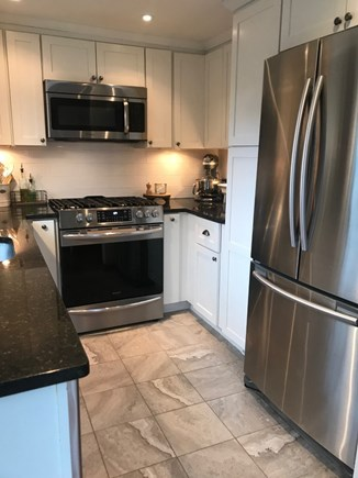 Harwich Cape Cod vacation rental - Modern updated kitchen with stainless steel appliances