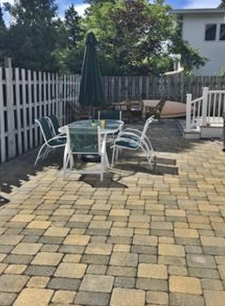 Harwichport Cape Cod vacation rental - Relax on the patio
