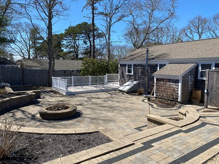 Dennis Cape Cod vacation rental - Back yard patio and deck