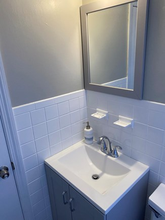 Dennis Cape Cod vacation rental - Bathroom with shower and bath tub