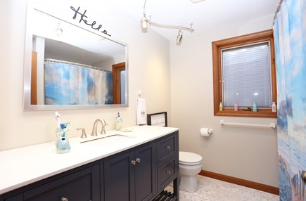 Eastham Cape Cod vacation rental - 1 of 2 bathrooms upstairs - more pics, just ask!