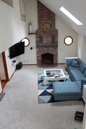 Eastham Cape Cod vacation rental - View from stairs