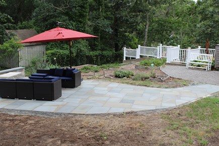 Eastham Cape Cod vacation rental - Outdoor firepit area