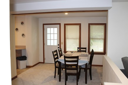 Eastham Cape Cod vacation rental - Lower dining room table