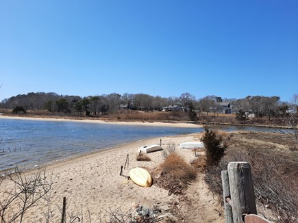 East Falmouth Cape Cod vacation rental - Beach at end of street