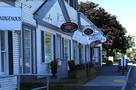 Harwich, Wyndemere Condominiums Cape Cod vacation rental - Charming Downtown Harwichport is Lovely in the Fall!
