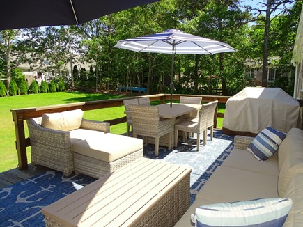 Harwich Cape Cod vacation rental - Deck area - places to relax and dine
