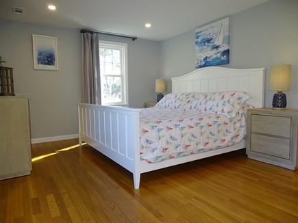 Harwich Cape Cod vacation rental - Large king Master bedroom, Smart TV, private half bath