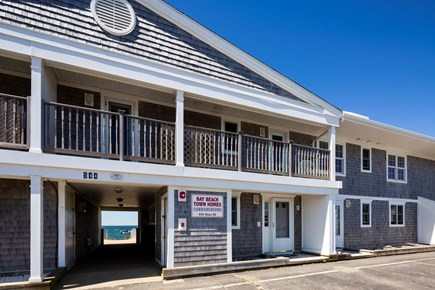 North Truro Cape Cod vacation rental - Parking is directly out the front entry for up to 4 cars