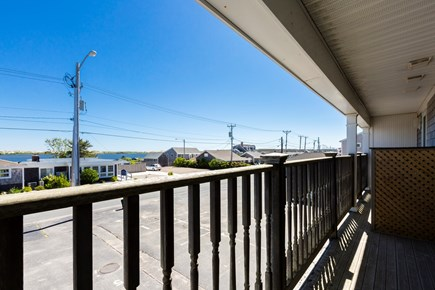 North Truro Cape Cod vacation rental - The second-floor balcony has a view of Pilgrim Lake