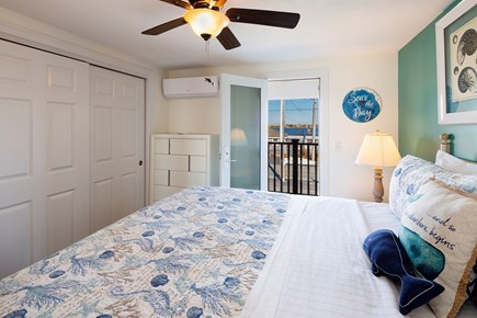 North Truro Cape Cod vacation rental - A second balcony offers a view of Pilgrim Lake from the Master