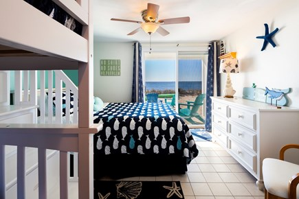 North Truro Cape Cod vacation rental - The first floor has direct beach access with a deck and BBQ
