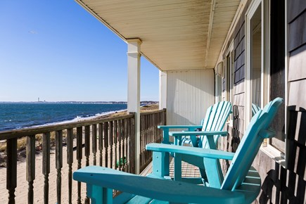 North Truro Cape Cod vacation rental - Your private second-floor balcony