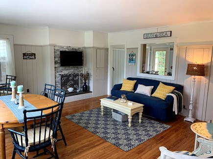 Chatham Cape Cod vacation rental - Living Room/Dining