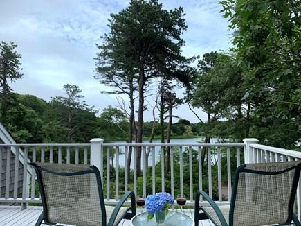 Chatham Cape Cod vacation rental - 2nd Floor Deck overlooking Stillwater Pond