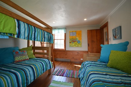 Orleans Cape Cod vacation rental - Kids` room with bunk bed and trundle bed - sleeps 4