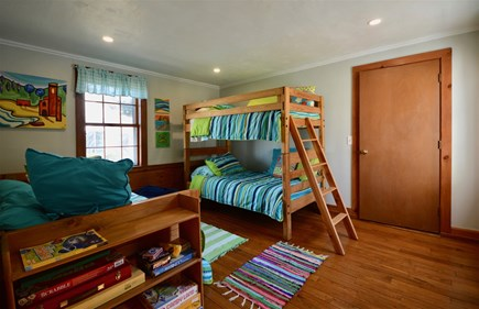 Orleans Cape Cod vacation rental - Kids` room with bunk bed, trundle bed and lots of games