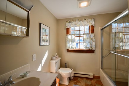 Orleans Cape Cod vacation rental - Second full bathroom off of kitchen with tub/shower combo
