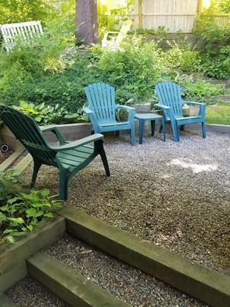 Wellfleet Cape Cod vacation rental - Back yard patio