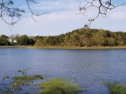 Wellfleet Cape Cod vacation rental - View of Duck Creek and Cannon Hill