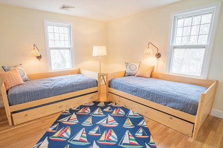 Yarmouth Port Cape Cod vacation rental - Kids Room with two trundle beds