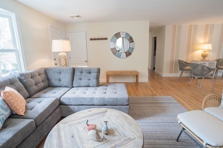 Yarmouth Port Cape Cod vacation rental - Living Room with entry way