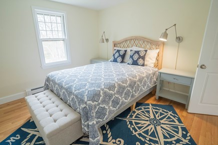 Yarmouth Port Cape Cod vacation rental - Guest bedroom with queen bed and storage