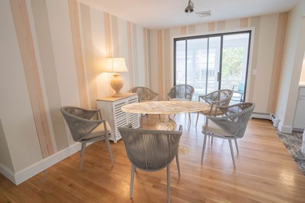 Yarmouth Port Cape Cod vacation rental - Dining Room seats six for meals or game night!