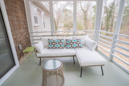 Yarmouth Port Cape Cod vacation rental - Outdoor screen porch