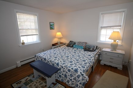Dennis Port Cape Cod vacation rental - Second bedroom with king bed (two twins) and window A/C