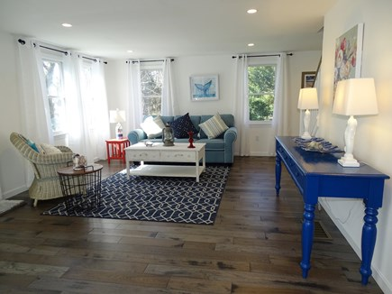 Eastham Cape Cod vacation rental - Sunny living room area