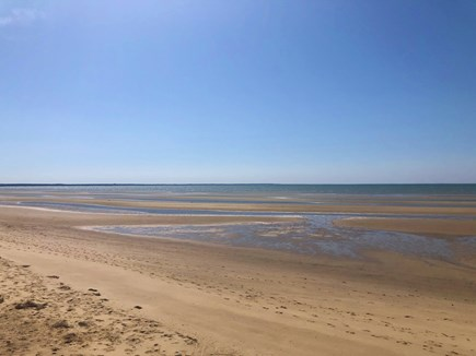 Eastham Cape Cod vacation rental - Campground beach - lovely and vast - just 1 mile away