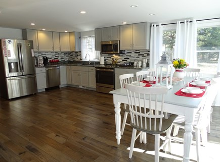 Eastham Cape Cod vacation rental - Open living space, new hardwood floors