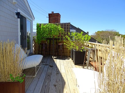 Provincetown Cape Cod vacation rental - Private Deck with furniture and scenic dune views
