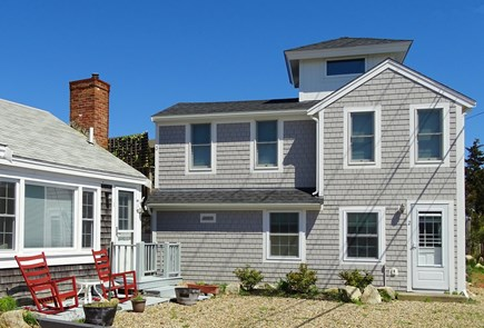 Provincetown Cape Cod vacation rental - View of upstairs condo from front entrance