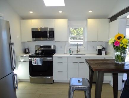 Provincetown Cape Cod vacation rental - Full Kitchen w/ quartz countertop, dishwasher, stainless fridge