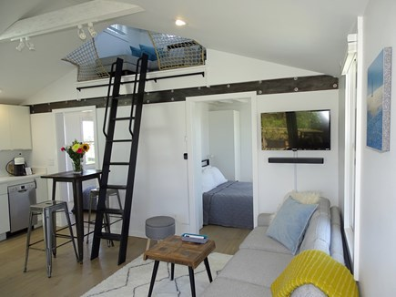 Provincetown Cape Cod vacation rental - Open and bright vaulted living area