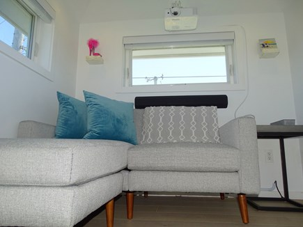 Provincetown Cape Cod vacation rental - Media Cupola/Loft with HD projector, movie screen and Dune views