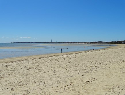 Provincetown Cape Cod vacation rental - Deeded-access to Bay-side beach- 5min walk across the street