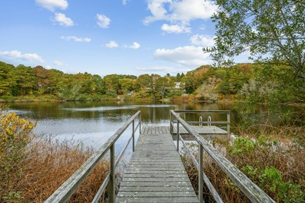 Cotuit Cape Cod vacation rental - Dock on pond