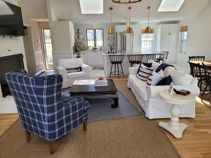 Cotuit Cape Cod vacation rental - Living room
