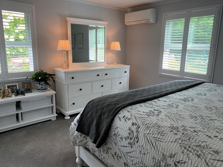 Chatham Cape Cod vacation rental - Master Bedroom with king bed and double closet.