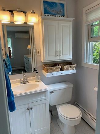 Chatham Cape Cod vacation rental - Half bath in Master Bedroom