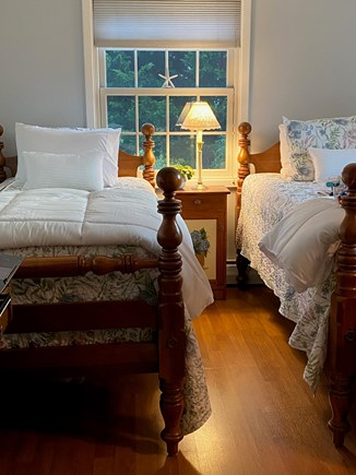 Chatham Cape Cod vacation rental - Twin bedroom with double closet.