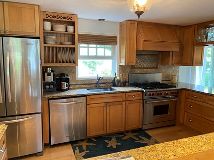 Chatham Cape Cod vacation rental - Chef's kitchen with stainless appliances.